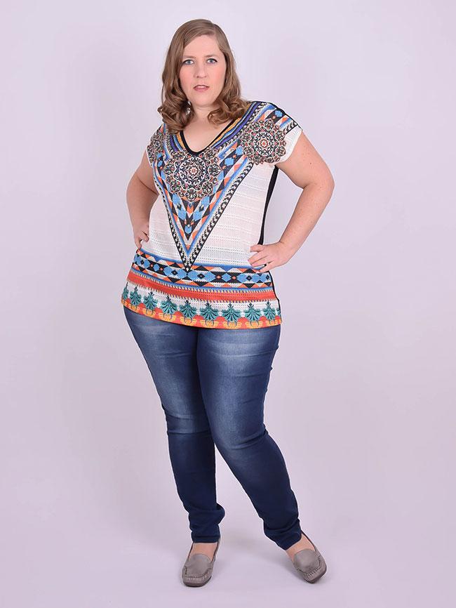 76c63a39b109 Calça Jeans com Lycra Skinny Plus Size   Realist Plus   Grassottelli Moda  Grande   Loja Online
