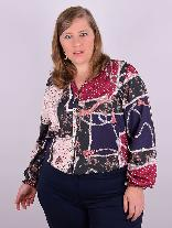 Camisa Manga Longa Four Way Estampada Plus Size